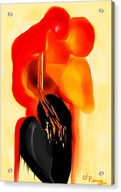 Love Slipping Away Acrylic Print