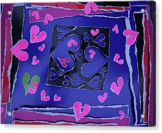 Love Soul Love Skeloton And The Subject Of Life Acrylic Print by Kenneth James