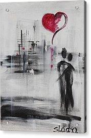 Love Story 3 Acrylic Print by Sladjana Lazarevic