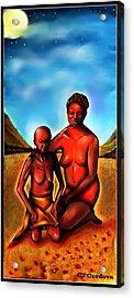Love Thy Mother Acrylic Print by Carmen Cordova