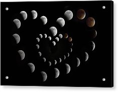 Love You To The Moon And Back II Acrylic Print