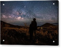 Loveing The  Universe Acrylic Print by Eti Reid