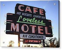 Loveless Cafe And Motel Nashville Acrylic Print by David M Porter