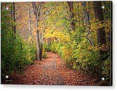 Lovely Autumn Acrylic Print