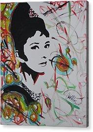 Lovely Hepburn Acrylic Print