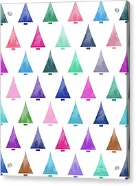Lovely Pattern IIi Acrylic Print by Amir Faysal