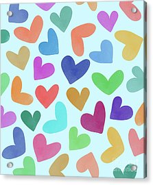 Lovely Pattern Iv Acrylic Print