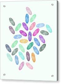 Lovely Pattern Vi Acrylic Print by Amir Faysal