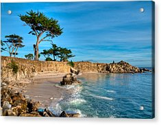 Lovers Point Pacific Grove Early Morning Acrylic Print