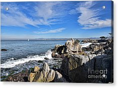 Lovers Point Park Acrylic Print by Gina Savage