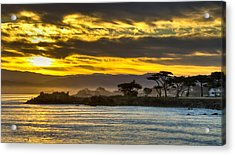Lover's Point Sunrise Acrylic Print