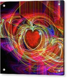 Love's Joy Acrylic Print by Michael Durst