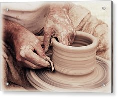 Acrylic Print featuring the photograph Loving Hands Creation by Emanuel Tanjala