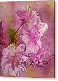 Loving Promises Acrylic Print by Georgiana Romanovna