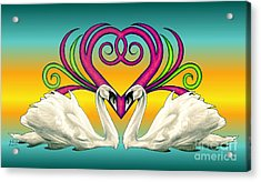Loving Souls Acrylic Print