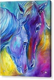 Loving Spirits Acrylic Print