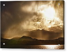 Low Clouds On The Colorado Rocky Mountain Foothills Acrylic Print by James BO  Insogna