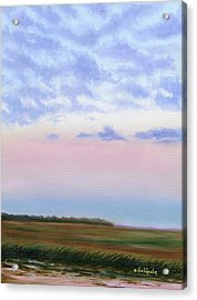 Low Country Clouds Acrylic Print
