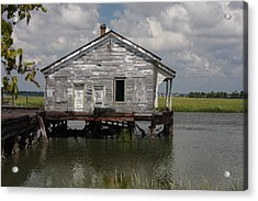 Low Country Fish Shack Acrylic Print