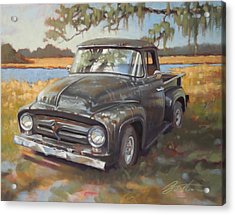 Low Country Parking Acrylic Print