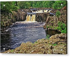 Low Force Waterfall, Teesdale, North Pennines Acrylic Print