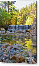 Low Look At The Falls Acrylic Print