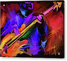 Acrylic Print featuring the painting Low Rider by DC Langer