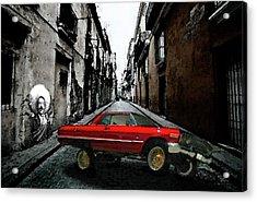Low Rider Acrylic Print by Monday Beam