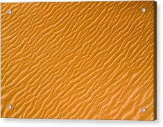 Low Rippling Dunes In The Northern Acrylic Print by Michael Fay