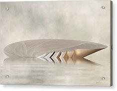 Low Tide - Seashell Rises Acrylic Print