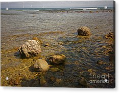 Acrylic Print featuring the photograph Low Tide 2 by Nicola Fiscarelli