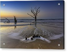 Low Tide At Botany Bay Acrylic Print