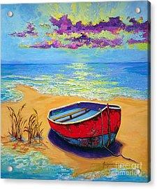 Low Tide - Impressionistic Art, Landscpae Painting Acrylic Print