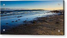 Low Tide In Winter Acrylic Print