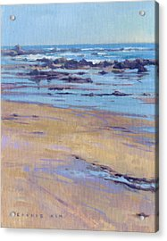 Low Tide / Crystal Cove Acrylic Print