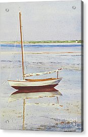 Low Tide Reflection Acrylic Print