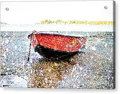 Low Tide's Rest Acrylic Print