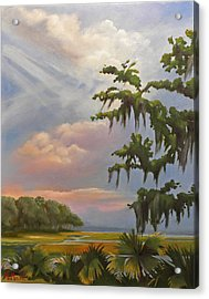 Lowcountry Acrylic Print by Karen Macek