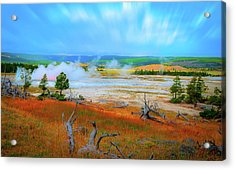 Lower Basin Acrylic Print
