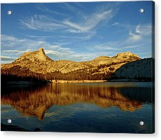 Lower Cathedral Lake Late Afternoon Acrylic Print