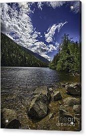 Lower Dewey Lake Acrylic Print by Dennis Wagner