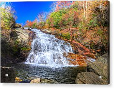 Lower Falls At Graveyard Fields Acrylic Print