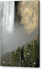 Lower Falls Closeup Acrylic Print