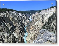 Lower Falls From Artist Point Acrylic Print