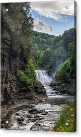 Lower Falls - Summer Acrylic Print
