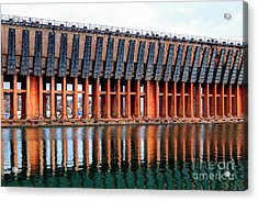 Lower Harbor Ore Dock, Marquette, Michigan Acrylic Print by John December