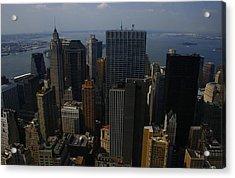 Lower Manhattan Acrylic Print by Christopher Kirby