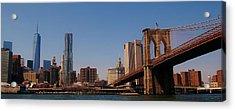 Lower Manhattan Nyc Acrylic Print