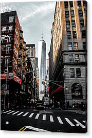 Lower Manhattan One Wtc Acrylic Print