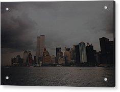 Lower Manhattan Acrylic Print by Rob Hans